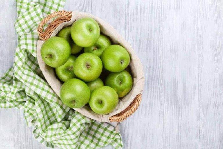 Gröna äpplen förbättrar ämnesomsättningen