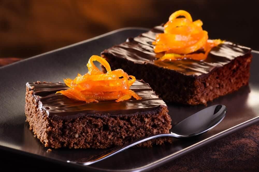 chokladkaka med apelsin