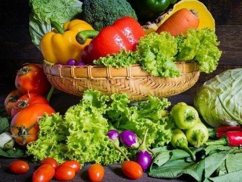 Frukt och grönsaker är alltid nyttigt.