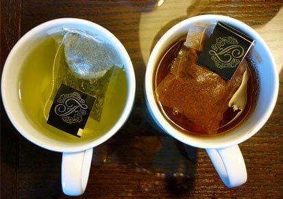 Grönt te hjälper till att stimulera blodflödet