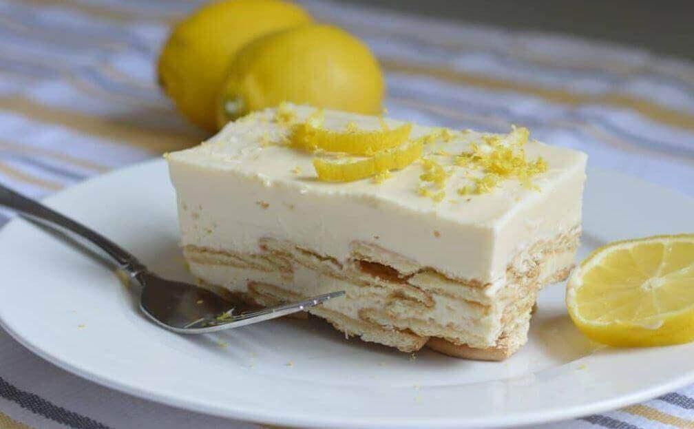 Hemgjord citronkrämpaj