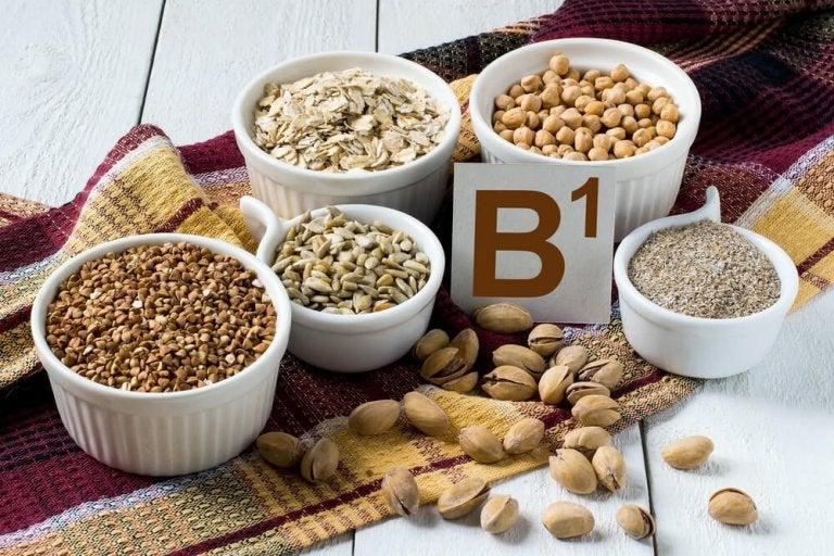 Vitamin B1 är ett naturligt myggmedel