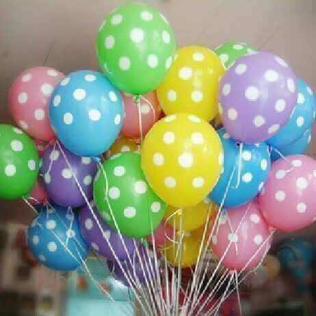 Prickiga ballonger.