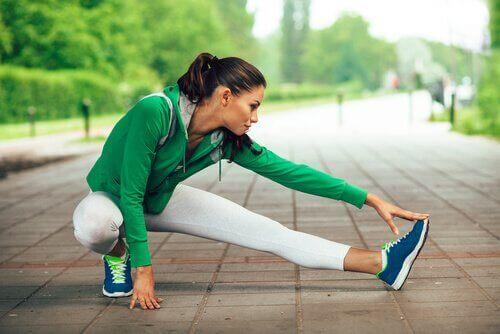 Stretcha musklerna ordentligt