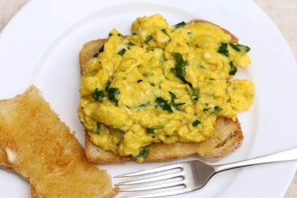 kalorisnål vegetarisk mat recept