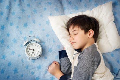 Barn som sover gott