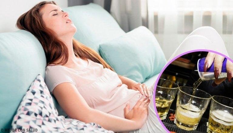 Drycker som är skadliga för magen