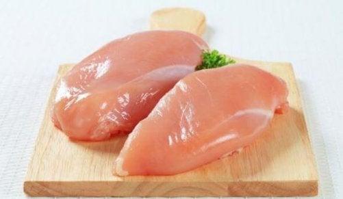 Enkelt recept på kycklingbröst