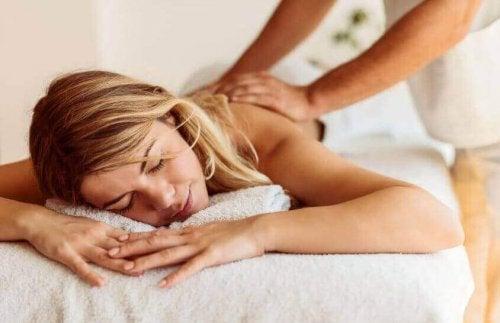 Massage kan hjälpa.