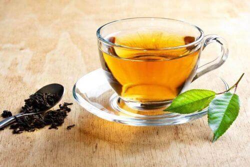 Te på damiana.