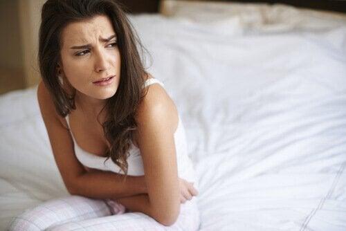 Förstoppning kan orsaka magont