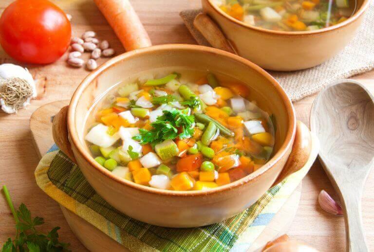 Serranosoppa är enkelt