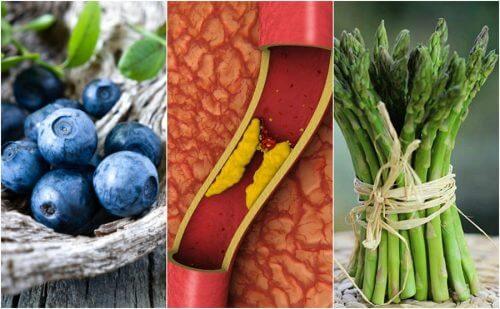 Motverka arteriell blockering med dessa 7 livsmedel