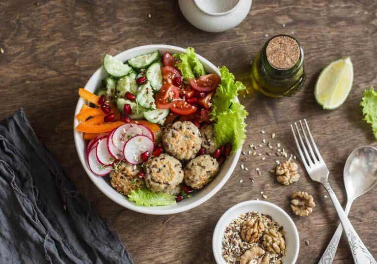 Enkelt recept på köttbullar med quinoa och kikärter