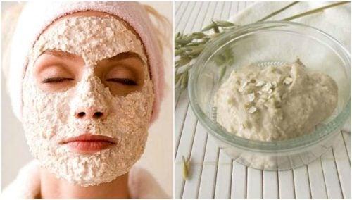 Hemgjord ansiktsmask som kan bekämpa pormaskar