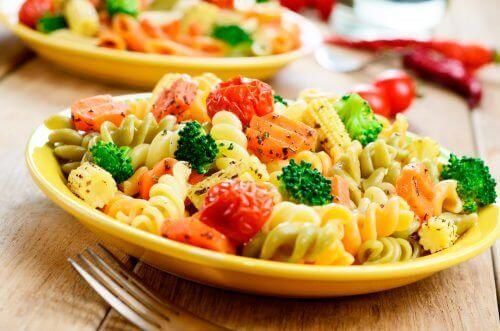 Glöm myten att pasta är fettbildande