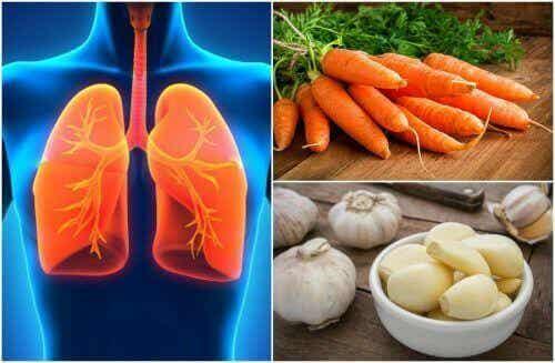 7 livsmedel som kan förbättra lunghälsan