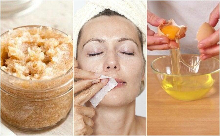 4 naturliga produkter för hårborttagning