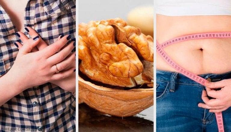 10 otroliga hälsofördelar med nötter