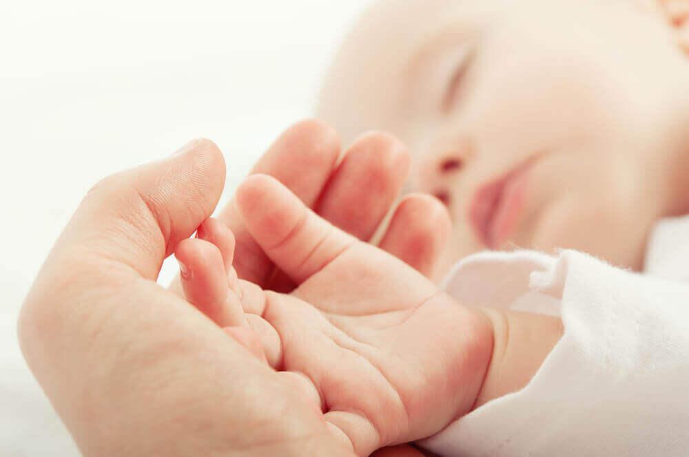 Moderskap med små barn
