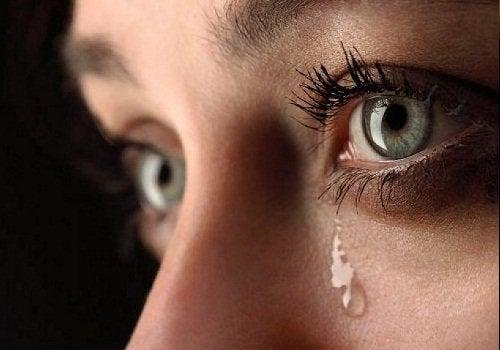 Gråt släpper på spänningar och stress
