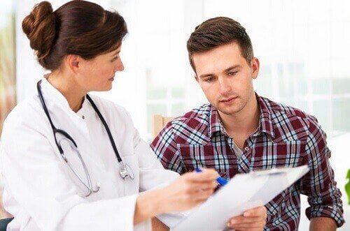 Kille hos läkare