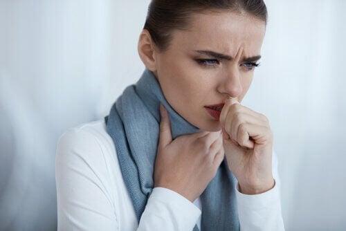 Viktiga symtom på lunginflammation.
