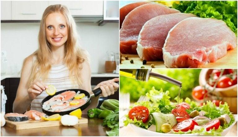 6 fantastiska tips för att laga hälsosam och fettsnål mat