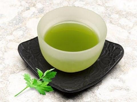 Drick persiljete för att minska smärta vid urinering