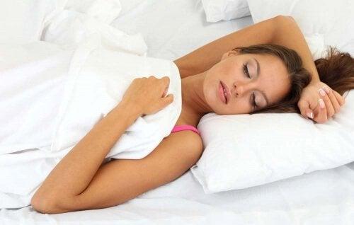 Dålig sovställning är en orsak