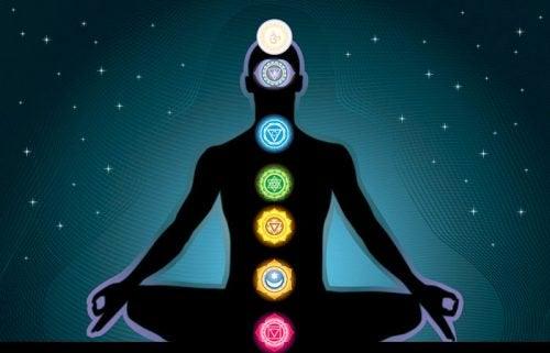 7 chakran i kroppen.