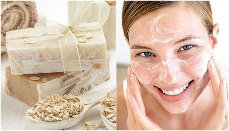 Gör egen havre- och honungstvål som återfuktar huden