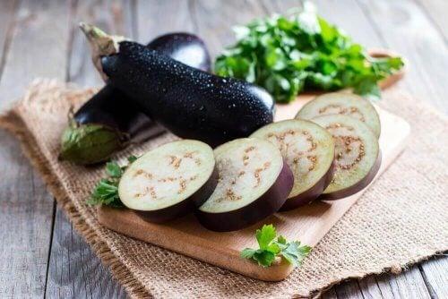 Gott recept på panerad aubergine - helt veganskt