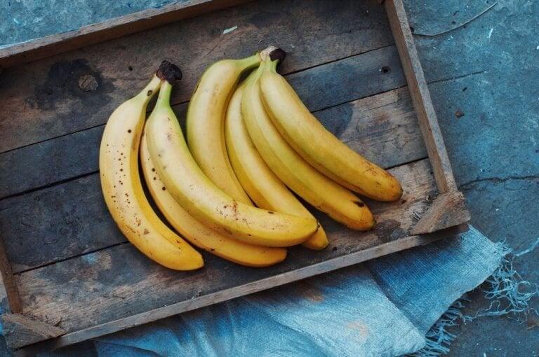 5 bananmasker för huden och håret