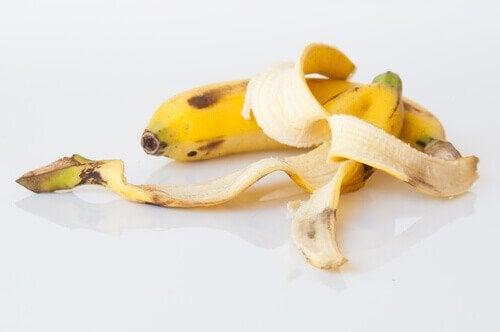 Bananskal kan bli ett naturligt gödningsmedel