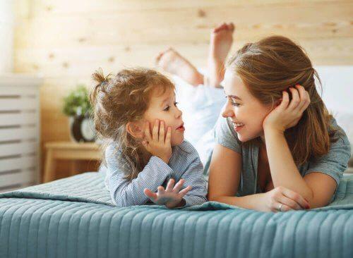 Lär ditt barn att säga sitt namn
