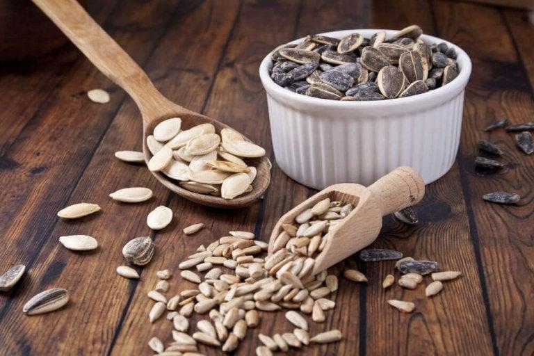 5 intressanta och goda frön för viktminskning