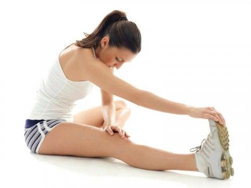 Stretcha för att mjuka upp musklerna