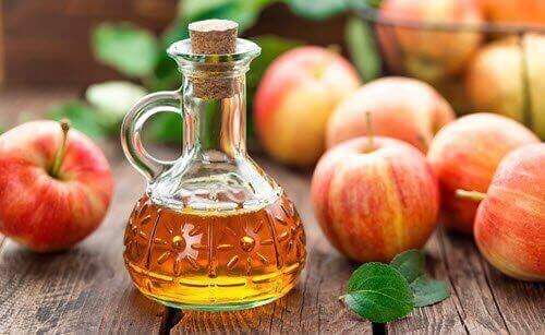 Äppelcidervinäger är effektivt mot muskelsmärta