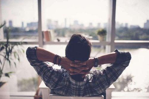 Skapa ett inre lugn för att övervinna insomnia