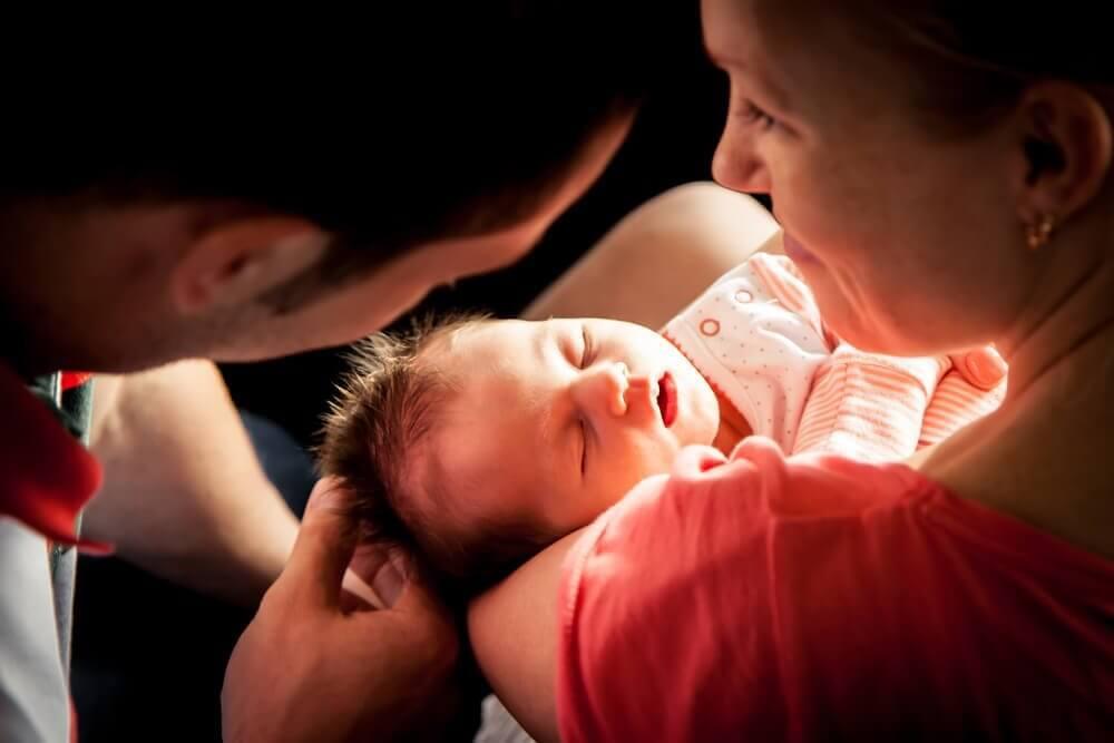 Parförhållandet hos nyblivna föräldrar