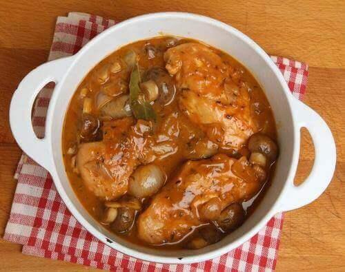 Sherrymarinerad kyckling med svamp – 4 recept