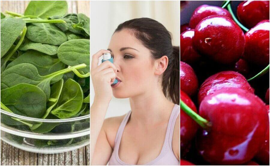 Bekämpa astma naturligt med dessa 7 livsmedel