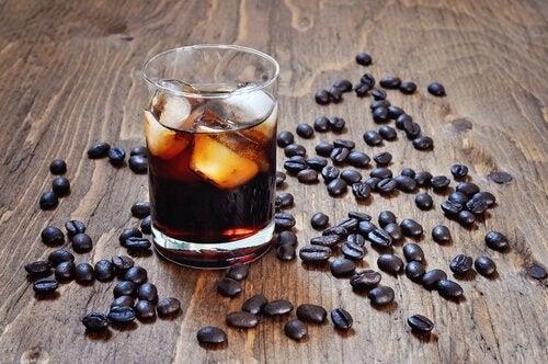 Drycker med koffein.