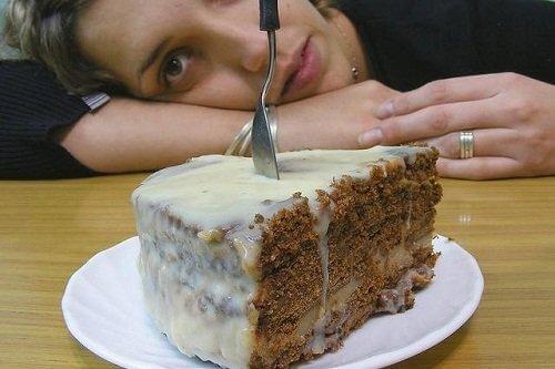 När din hjärna fått socker produceras endorfiner