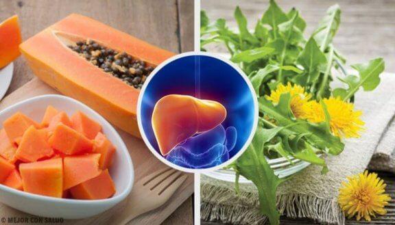 Behandla lever angripen av inflammation naturligt