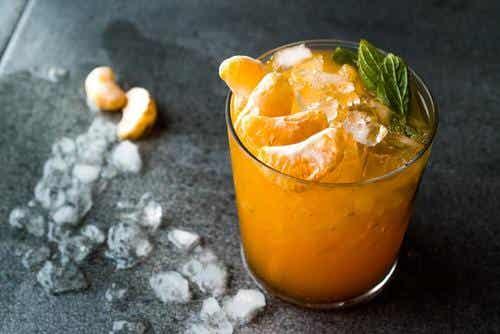 Läskande tangerinmojitos som svalkar ner dig