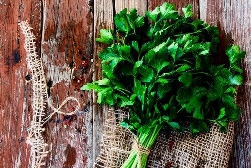 Persiljete är fullt med antioxidanter