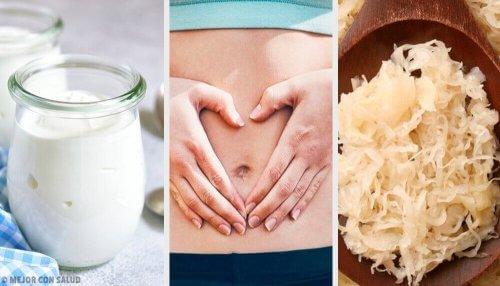 Probiotika är bra för magen