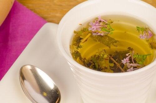 Te på valeriana.
